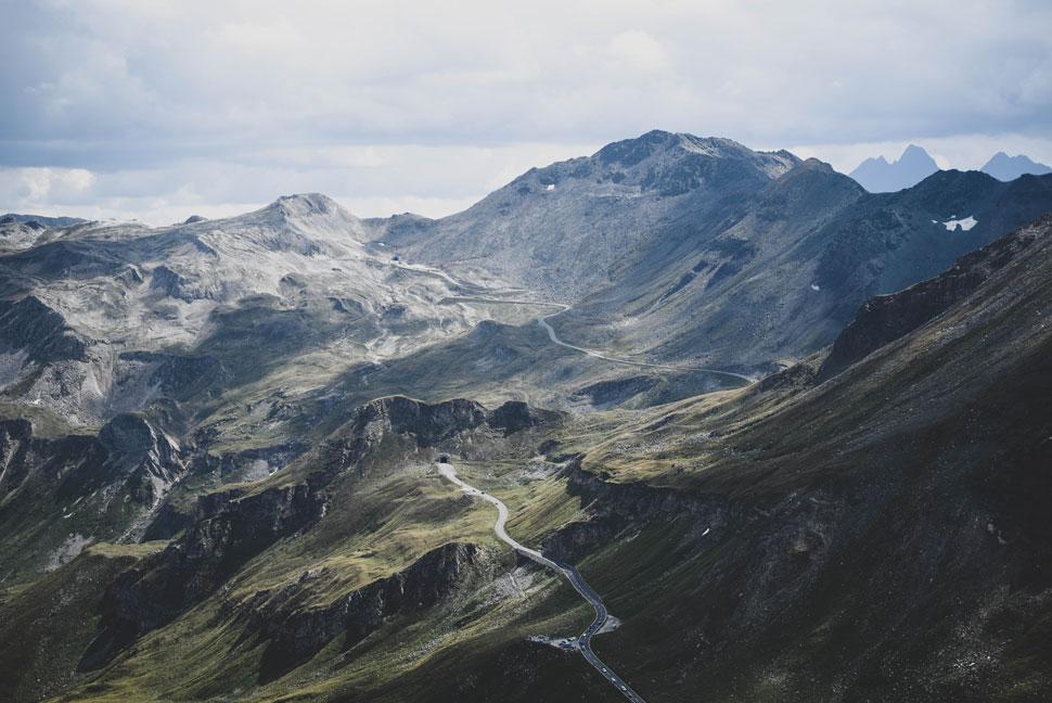 Grossglockner - Berg Ansicht